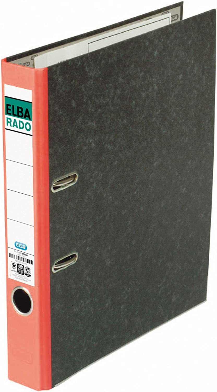 für A4 rot 50mm ELBA Ordner rado//10404FRO
