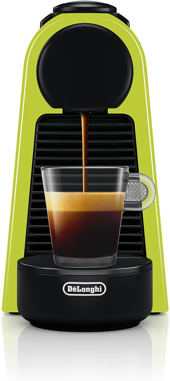 Nespresso by De Longhi EN85L Essenza Mini Original Espresso Machine by De Longhi, Lime