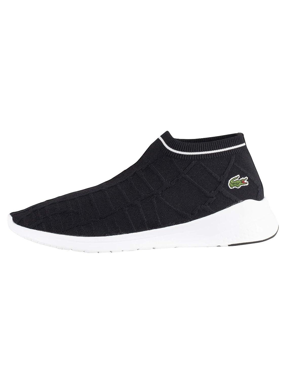 acaed069229b5 Amazon.com: Lacoste Men's LT Fit Sock 119 2 SMA Trainers, Black, 11 ...