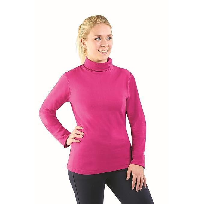 d6d4ed151ec458 Dublin Berna Turtle Neck Top: Amazon.co.uk: Clothing