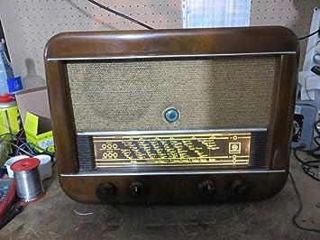 TKS Antigua Radio Vintage HORNYPHON PRINZESS W452A 1952: Amazon.es: Deportes y aire libre