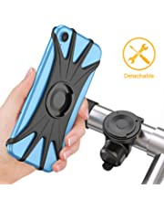 Cocoda Soporte Movil Bici, Soporte Móvil Moto Bicicleta 360° Rotación Magnética Desmontable [Pantalla Completa Amigable] Porta Movil Motocicleta Manillar Accessories para 4.0 '' - 6.5 '' Teléfonos