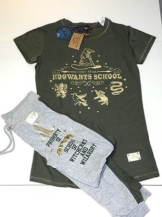 d15ec492c8f79 Primark Ladies Girls Womens Licensed Harry Potter Hogwarts School Pajama  Pyjama Legging T-Shirt PJ Set UK S-XL Sold by PENTA06 (UK M 10-12): Amazon. co.uk: ...