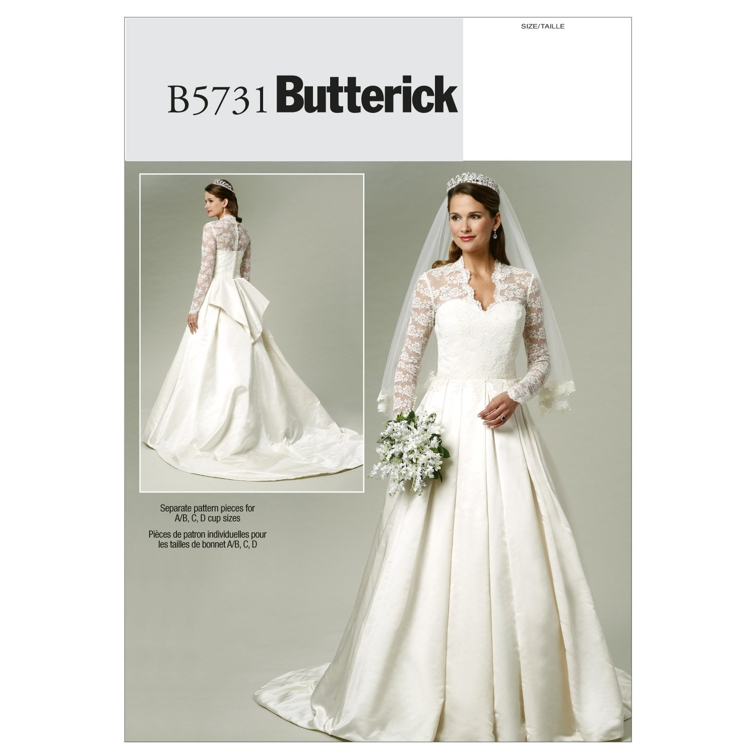 Butterick patterns b5731 size a5 6 8 10 12 14 misses dress pack butterick patterns b5731 size a5 6 8 10 12 14 misses dress pack of 1 white amazon kitchen home jeuxipadfo Image collections