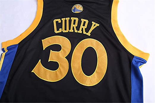 Traje de Baloncesto de Verano de la NBA Warriors Curry 30th Jersey Bordado   Amazon.es  Deportes y aire libre 4c4ef03347d