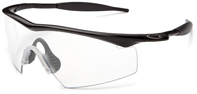 oakley industrial m frame black clear lens mens glasses