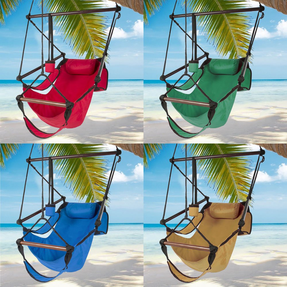 Didade 4 Color Well-Equipped S-Shaped Hook High Strength Assembled Hanging Seat Cacolet Blue