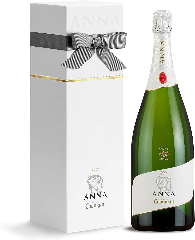 Codorníu | Estuche regalo Premium Cava Anna de Codorníu Magnum | Botella de 1.5 cl: Amazon.es: Alimentación y bebidas