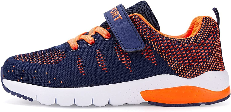 MAYZERO Unisex-Kinder Sneakers Laufen Schuhe Sportschuhe Sneakers Jungen M?dchen Low-Top Sneakers