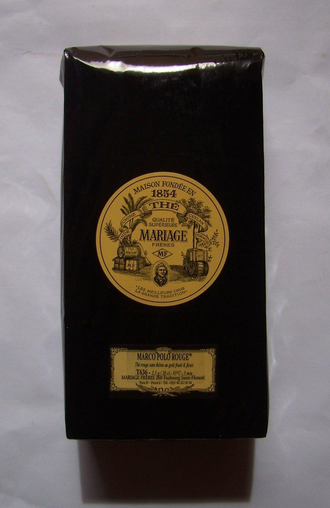 Mariage Frères - MARCO POLO ROUGE - LOOSE LEAF BAG - 17.63oz / 500gr