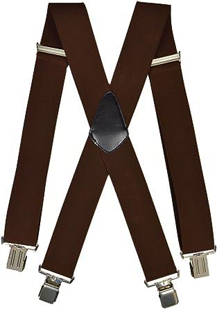 Children/'s Burgundy Stripe Trouser Braces Elastic Suspenders Handmade in England