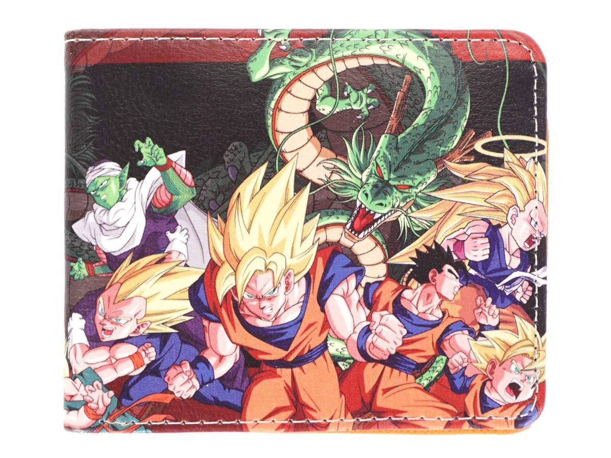 Tema A CoolChange Cartera con Bolsillo para Monedas de Dragon Ball