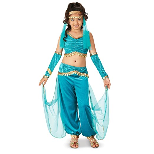 Genie Child Costume  sc 1 st  Amazon.com & Amazon.com: Genie Child Costume: Toys u0026 Games