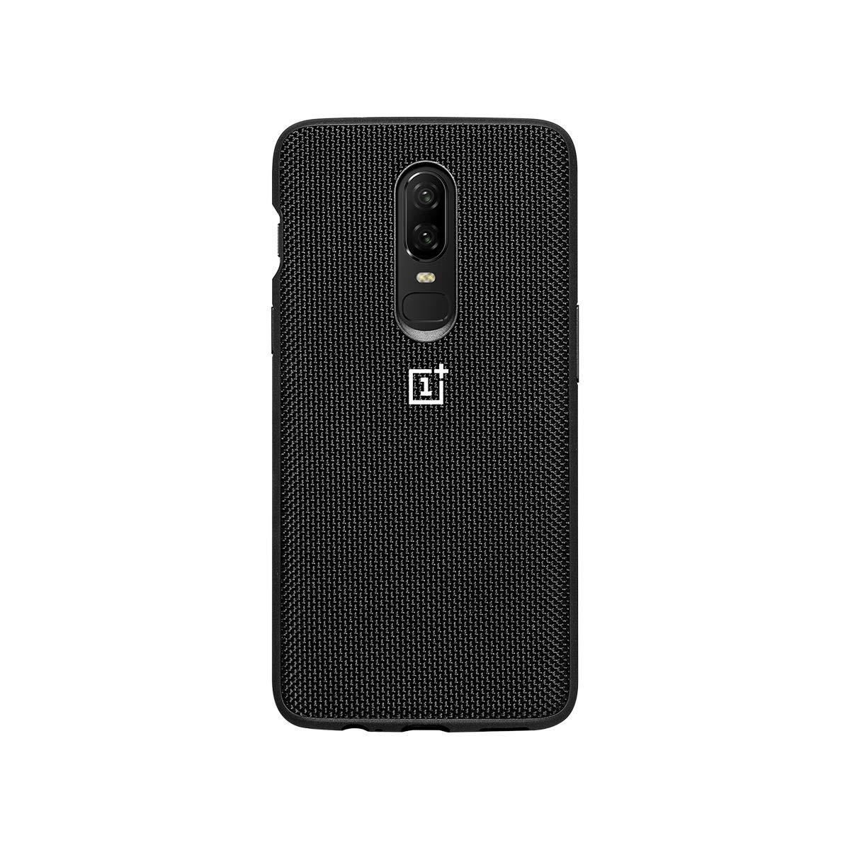 OnePlus 6 Bumper Case Nylon Cover Black