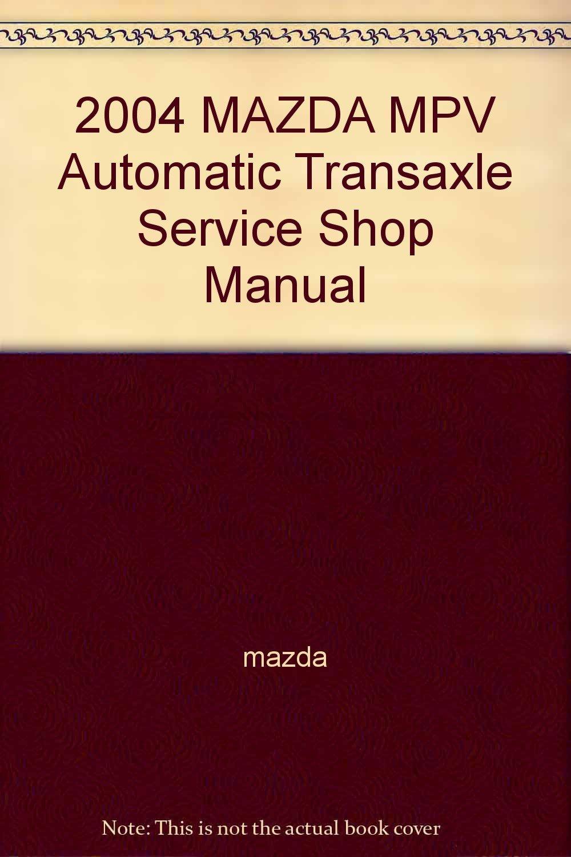 manual mazda mpv 2004