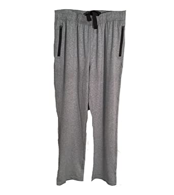 32 Degrees Heat Mens Tech Fleece Jogger Pants (Medium, Heather Gray)