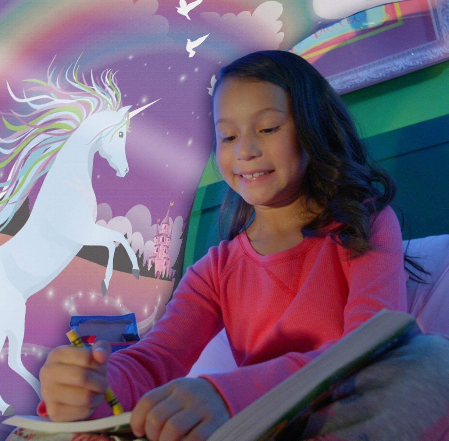 Miaogo Tents Parte Tiendas de campaña Cama Cama Tienda Tienda de ensueño Kid s Fantasy niños Dormitorio Decoración (Unicornio)