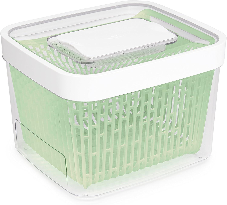 Amazon Com Oxo Good Grips Greensaver Produce Keeper 4 3 Qt