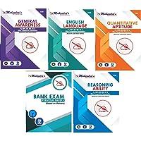 Mahendras Bank Kit English _2019 Latest Material(Combo of 5) I BANK PO I IBPS PO I RRB I CLERK ENTRANCE EXAM I LIC I RBI EXAM