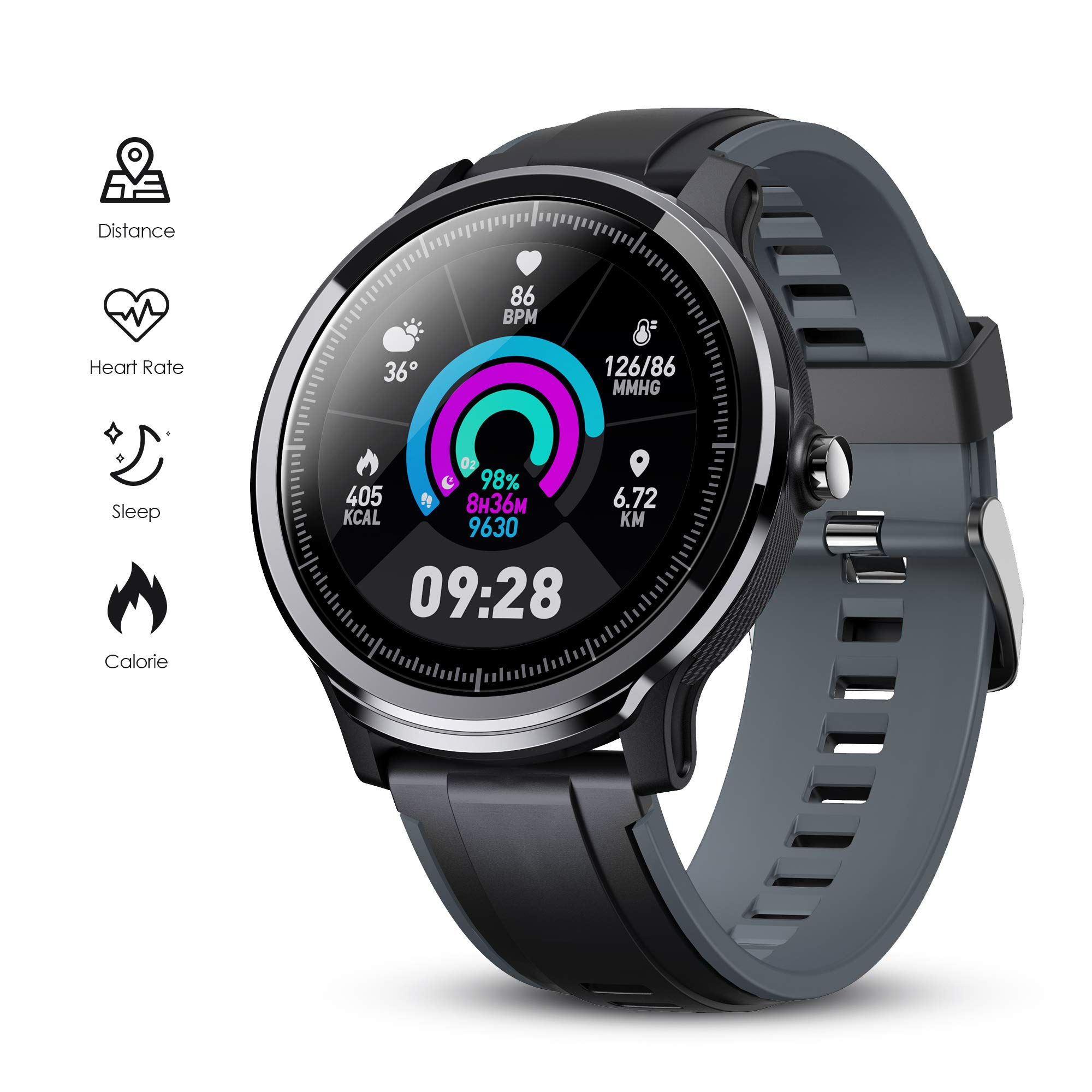gokoo-smart-watch-sport-activity-tracker-waterproof-smartwatch-for-men-with-blood-pressure-heart-rate-sleep-monitor-breathing-train-step-distance-calorie-full-touch-camera-music-control-blac