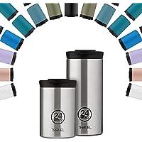 24Bottles Thermo-reisbeker, thermosbeker van roestvrij staal, BPA-vrij, 12 uur koud 6 uur warm, reisTumbler origineel…