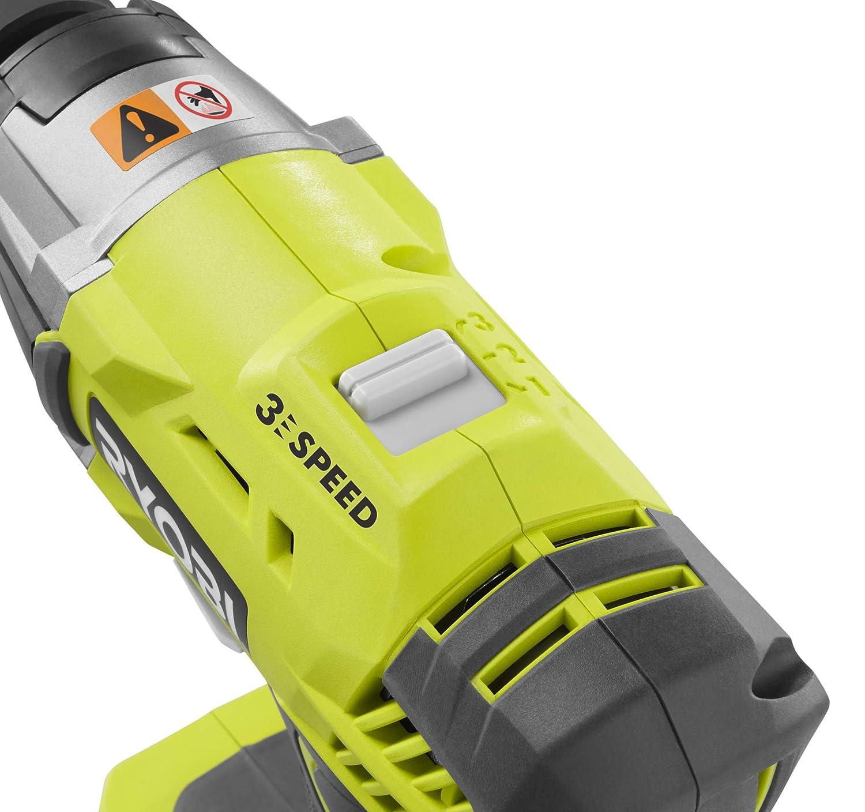 1 x 2.0Ah Cordless 3 Speed Impact Wrench Starter Kit Ryobi R18IW3-120S 18V ONE