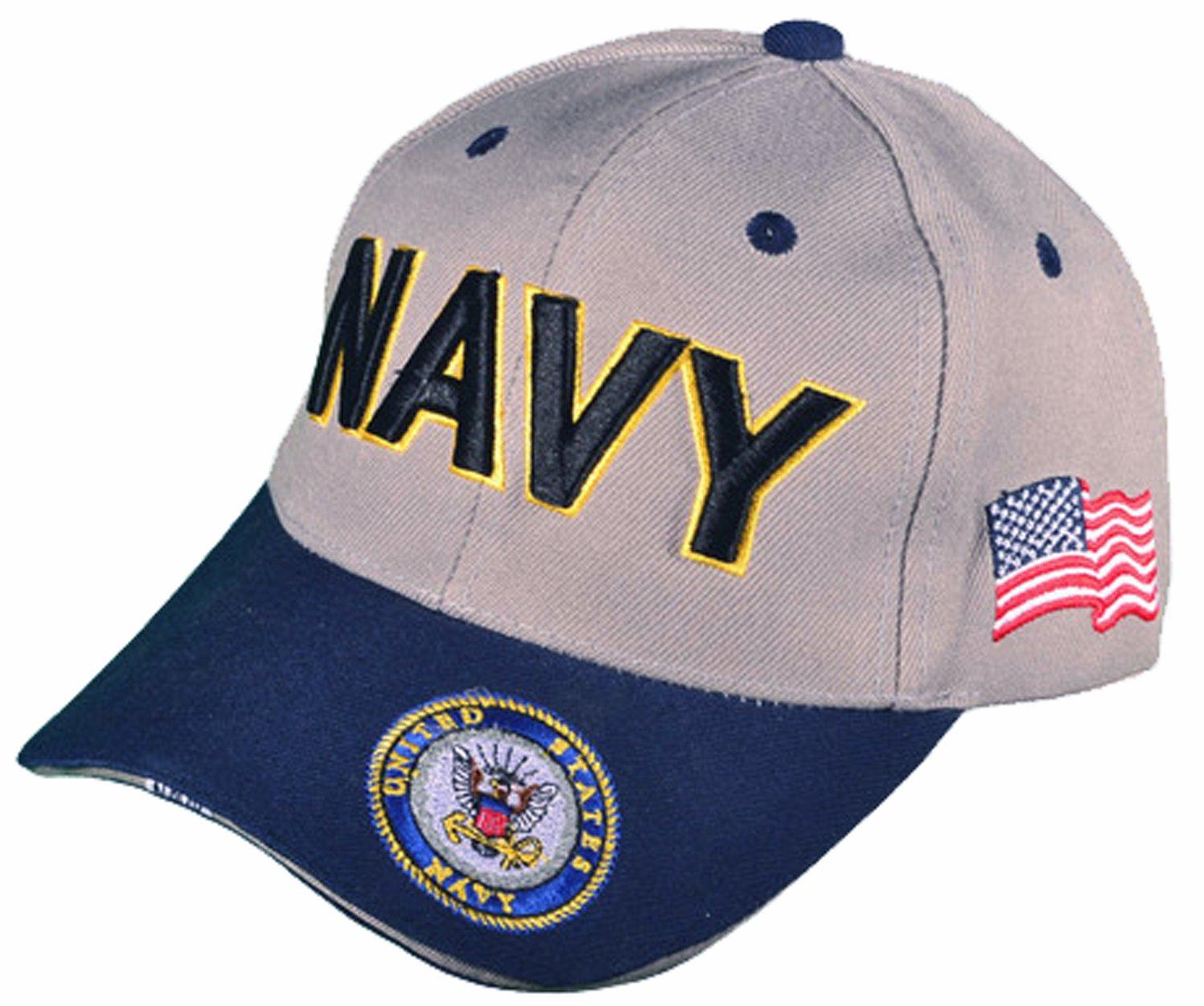 Buy Caps and Hats US Navy Veteran Baseball Cap Vet Naval Mens Womens