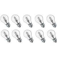 10 x Eco halogeenlamp 42W = 56W vervanging voor 60W E27 heldere gloeilamp 2000h warm wit dimbaar