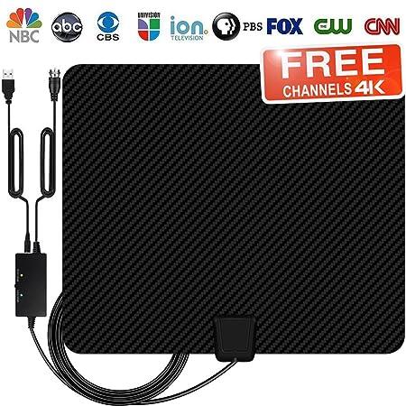 Review TV Antenna, Indoor Amplified