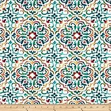 Richloom Solarium Outdoor Reina Opal Fabric By The Yard