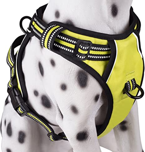 PoyPet No Pull Dog Harness, Reflective