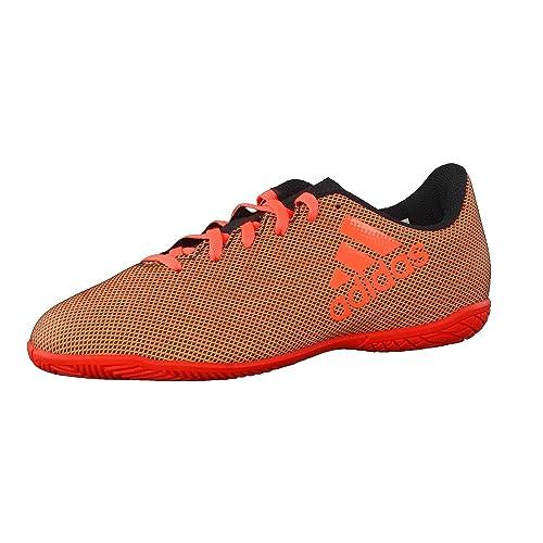 newest 31e62 1445e adidas X 17.4 in J, Chaussures de Football en Salle Mixte Enfant - Noir -