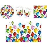 Procos 412291 - Set di accessori per feste, motivo: Palloncini Fiesta, S