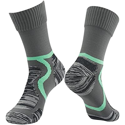 .com : 100% Waterproof Hiking Socks, [SGS Certified] RANDY SUN Unisex Ventilated Breathable Skiing Trekking Sock : Clothing