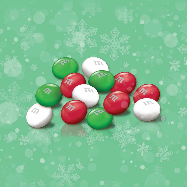 Amazon M&M S Christmas Mint Chocolate Candy 9 9 Ounce Bag