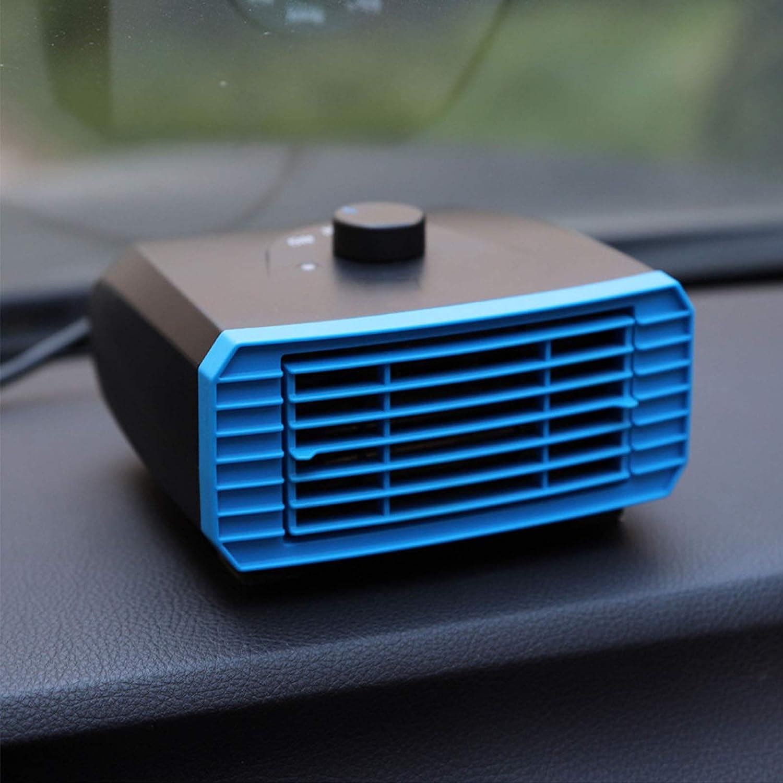 Tragbare Auto Demister LKW Van,Blue 12V Stecken Sie Den Zigarettenanz/ünder Mit Einer 1,2 M Langen Leitung EIN F/ür Auto PTC Auto-Heizl/üfter