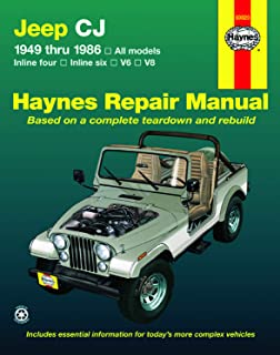 1984 1985 1986 Jeep CJ-7 Scrambler Shop Service Repair Manual CD OEM Guide