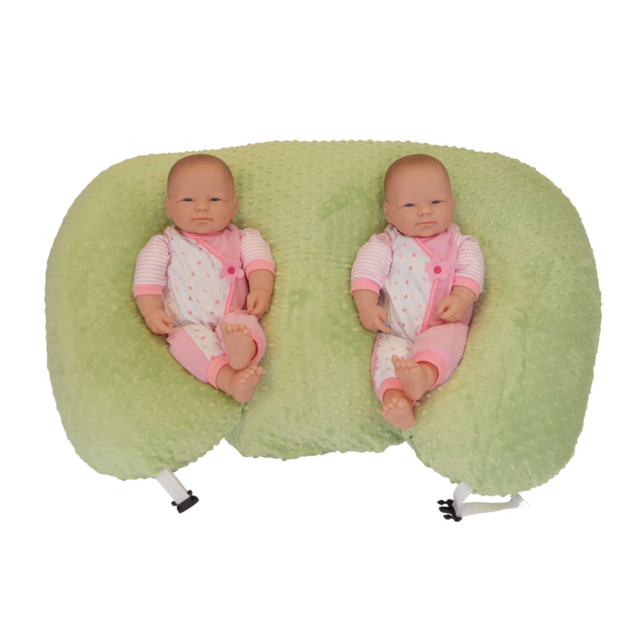 Twin Z WATERPROOF Pillow + 1 Green Cuddle Cover + FREE Travel Bag!