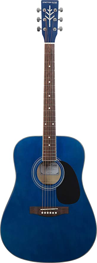 Stretton Payne Dreadnought D1 - Guitarra acústica con cuerdas de acero, tamaño grande: Amazon.es: Instrumentos musicales