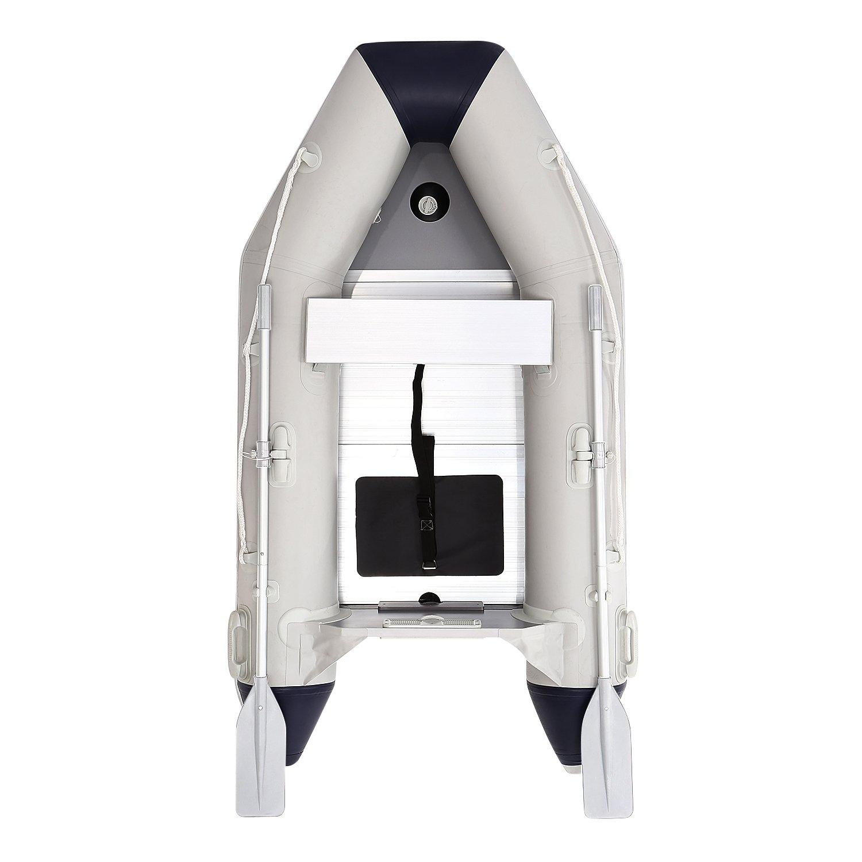 lantusiインフレータブルボート、2人インフレータブルスポーツDinghy Tender Boat with Aluminum Floor (米国Stock ) B07313BJ9K