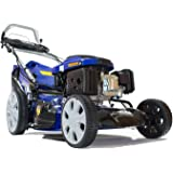 Hyundai 196cc Electric Start Self Propelled 4-in-1 Rotary Petrol Lawn Mower HYM51SPE