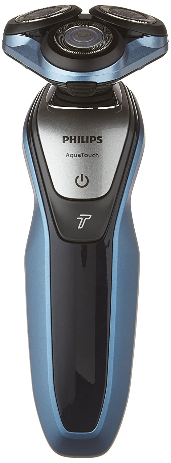 $99.99 (was $127.49) Philips Wet & Dry Electric Cordless AquaTouch Shaver Series 5000 with Turbo Speed and Travel Case, S5620/41