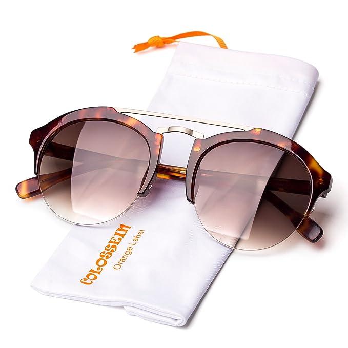 COLOSSEIN Verano Moda Gafas De Sol De Las Mujer Gafas ...