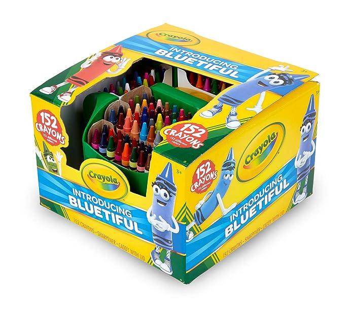 Crayola 绘儿乐 152色彩色蜡笔 8.5折$12.78 海淘转运到手约¥163 中亚Prime会员凑单免运费直邮到手约¥101