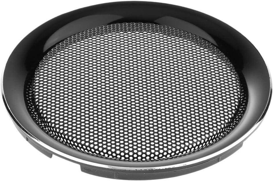 6.5Inch Speaker Grills Cover Guard Protector Mesh Speaker Decorative Circle Audio Accessories Black