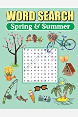 Word Search Spring & Summer: Large Print Word Find Puzzles Paperback