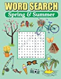 Word Search Spring & Summer: Large Print Word Find Puzzles