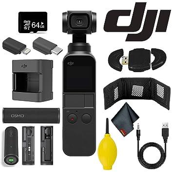 Amazon.com: DJI Osmo Gimbal de bolsillo con lector de ...