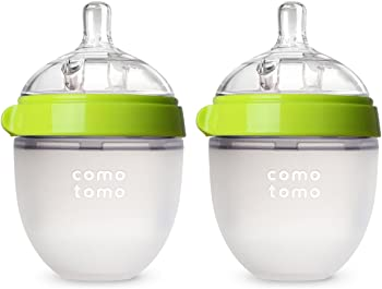2-Count Comotomo 5 Ounce Baby Bottle