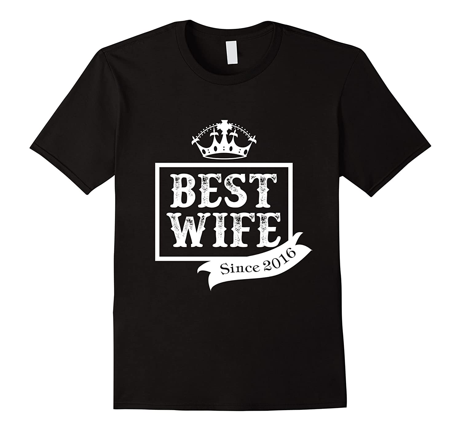 1st Years Anniversary tshirt Gift Best Wife Since 2016 tee-TH